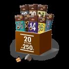 חבילת 20 מארזי קפסולות אספרסו