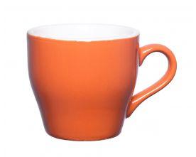 כוס קפוצ'ינו כתומה